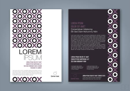 minimal geometric shapes design background for business annual report book cover brochure flyer poster