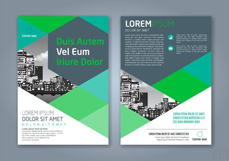 minimal geometric shapes design background for business annual report book cover brochure flyer poster Vektorgrafik