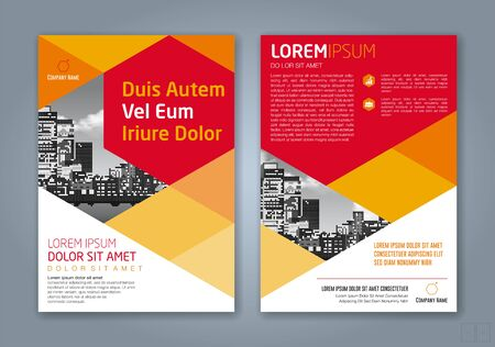 minimal geometric shapes design background for business annual report book cover brochure flyer poster Vetores