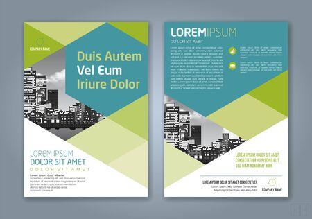 Fondo de diseño de formas geométricas mínimas para negocios informe anual portada de libro folleto folleto cartel