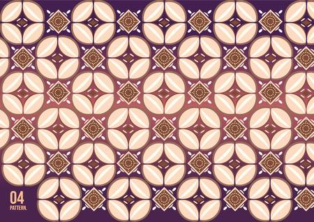 vector batik kawung Illustration