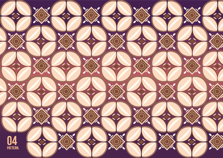 batik: vecteur batik Kawung