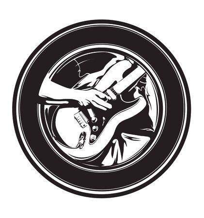 accords: vector guitar icon