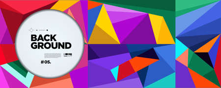 Colorful Abstract 2021 Banner Template trend with Dummy Text for Web Design, Landing page, story, and Print Material.