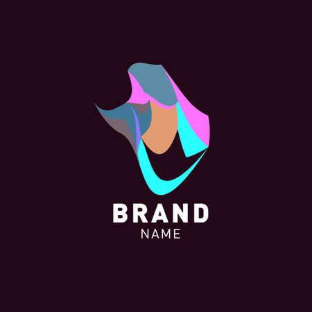 Vector colorful abstract liquid abstract logo design Logo