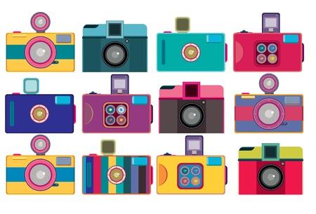 teenage girl: Vintage cute toy camera