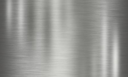 metales: circular de la textura de metal pulido
