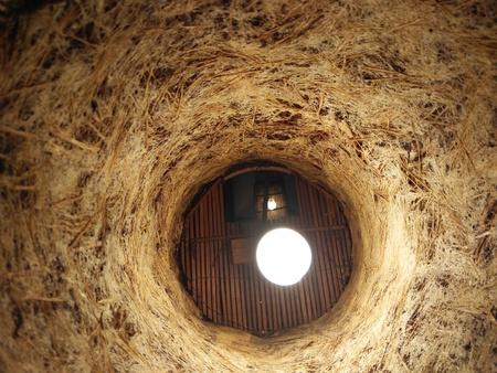 Bamboo lamp background
