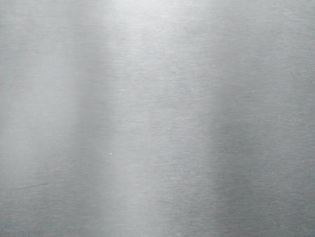 Aluminum texture background Imagens