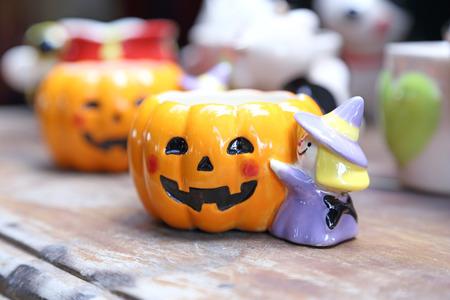 Ceramic doll Stock Photo
