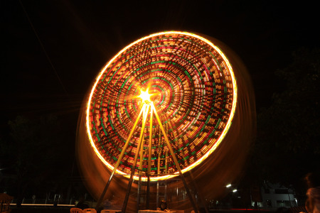 wristbands: The fair at night.