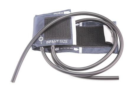 blood pressure cuff: blood pressure cuff , part of sphygmomanometer