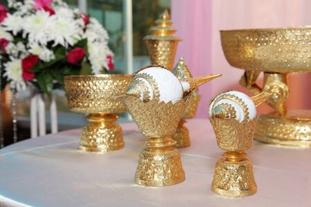 relaunch: Thai wedding accessories for Relaunch ceremony