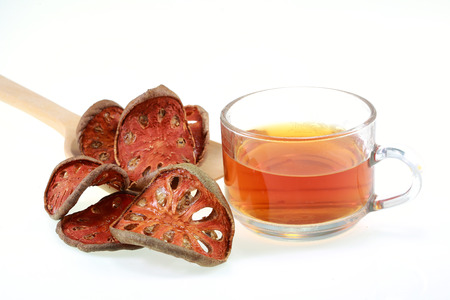 Still life photo of herbal drink nam ma tum Stock Photo