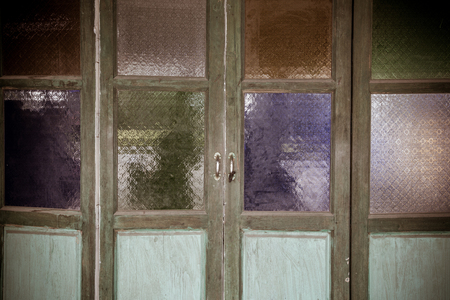 diagonals: Multi color of glass window or glass background.vintage style.