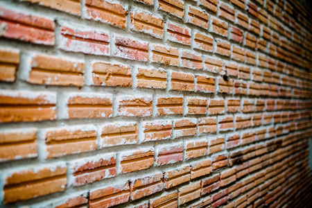 diminishing: Brick wall with diminishing perspective