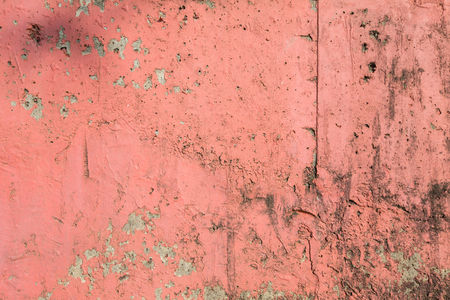 oldened: Concrete Wall Background, Old Pink Vintage Wall