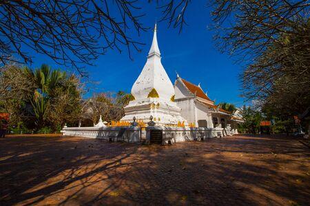 loei: Phra That Si Song Rak temple in Loei, Thailand.