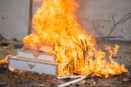 cremation: Cremation Buddhist