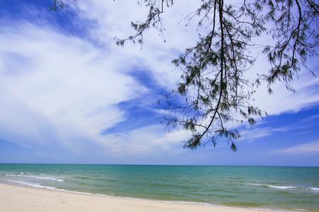 Beach and tropical sea  Standard-Bild