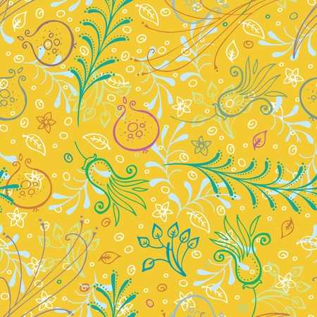 Seamless floral pattern Stock Vector - 16622218