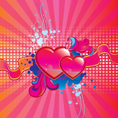 Valentines Day background Stock Vector - 16945778