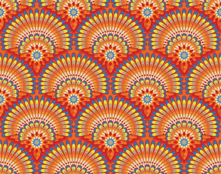 Ethnic wallpaper pattern Stock Vector - 17125314