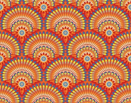 Ethnic wallpaper pattern Illustration