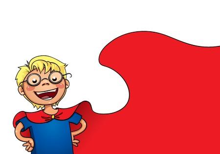 Little superman Illustration