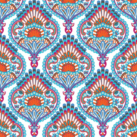 damask vector seamless wallpaper