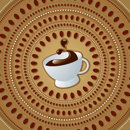 vector cup of coffe