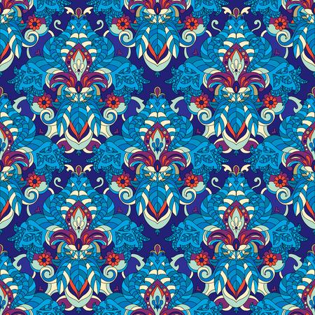 Vector seamless wallpaper background