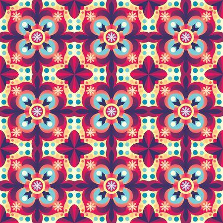 Vector seamless oriental background