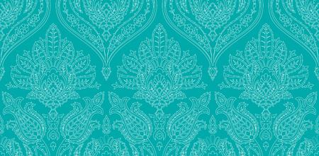 Vector patrón de colores sin fisuras en estilo turco. Fondo decorativo vintage. Adorno dibujado a mano. Islam, árabe, motivos otomanos. Papel pintado, estampado de tela.