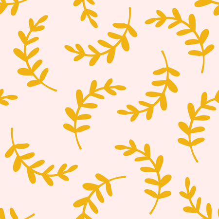 vector patterns from leaves and twigs