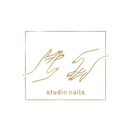 Logotipo de nail studio