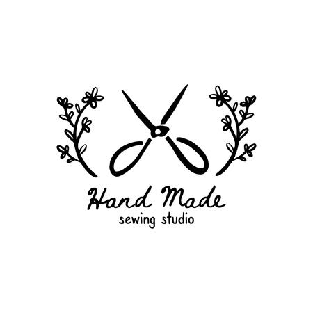 handmade Studio sewing logo