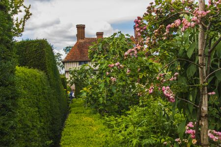 Great Dixter is a gardens in Northiam, East Sussex