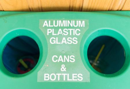 recycle bin Stock Photo