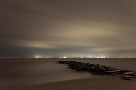 Gloomy seascape Reklamní fotografie