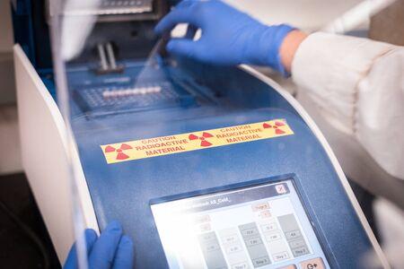 Radioactive PCR