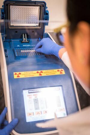 pcr: Radioactive PCR