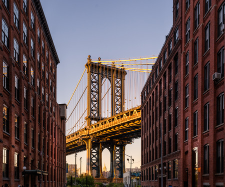 manhattan bridge: Manhattan Bridge from Brooklyn
