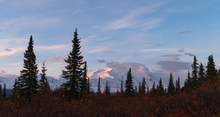 Mount. Denali, Alaska Stock Photo