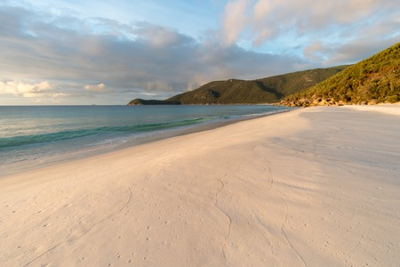 White sand beach in the Wilsons Promontory Stock Photo - 100225914