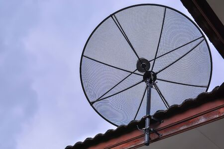 Install Satellite dish on the roof.