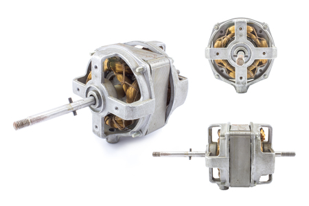 spare part: Electric motors Stock Photo