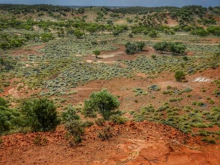ヒバリの採石場の恐竜の国。オーストラリア クイーンズランド州。