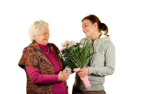 lady's: Congratulations Stock Photo