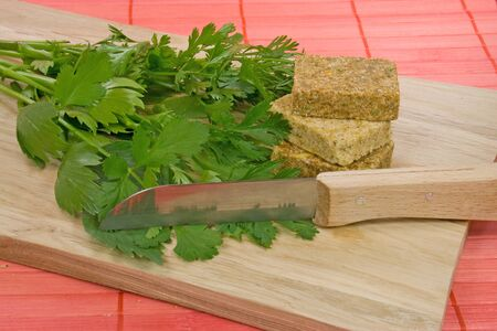 potherb: herbs for soup